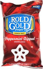 Rold Gold Peppermint Dipped Snowflakes