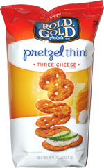 Rold Gold Pretzel Thins Three Cheese