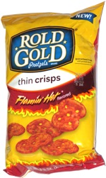 Rold Gold Thin Crisps Flamin' Hot
