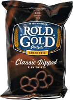 Rold Gold Classic Dipped Tiny Twists Fudge Coated Pretzels