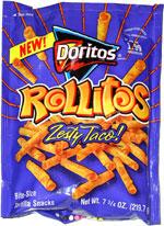 Doritos Rollitos Zesty Taco!