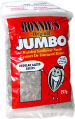 Ronnie's Original Jumbo Roasted Sunflower Seeds Regular Salted