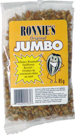 Ronnie's Original Jumbo Honey Roasted Sunflower Kernel