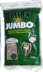 Ronnie's Original Jumbo Roasted Sunflower Seeds Gourmet Seasoned