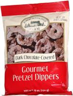 Robert Rothschild Farm Dark Chocolate-Covered Gourmet Pretzel Dippers