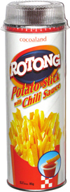 Cocoaland Rotong Potato Stick with Chili Sauce
