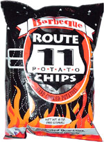Route 11 Barbeque Potato Chips