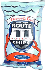 Route 11 Chesapeake Crab Potato Chips