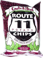 Route 11 Garlic & Herb Potato Chips