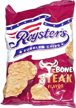 Roysters Bubbled Chips T-Bone Steak Flavor