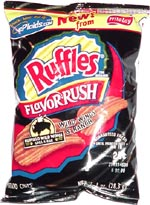 Ruffles Flavor Rush Wild Wings & Ranch Potato Chips