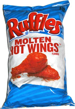 Ruffles Molten Hot Wings