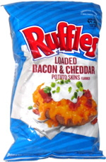 Ruffles Loaded Bacon & Cheddar Potato Skins