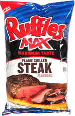 Ruffles Max Flame Grilled Steak