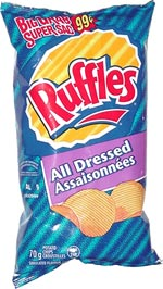 Ruffles All Dressed Chips (Assaisonnées Croustilles)