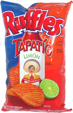 Ruffles Tapatio Limon Salsa Picante
