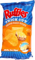 Ruffles Thick Cut Cheddar Baked Potato