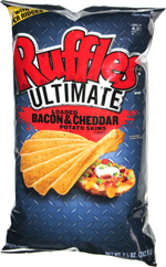 Ruffles Ultimate Loaded Bacon & Cheddar Potato Skins