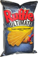 Ruffles Ultimate Tangy Honey Mustard