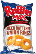 Ruffles Max Beer Battered Onion Rings