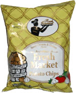 Fresh Market Potato Chips - Sour Cream & Onion