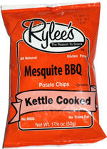 Rylees Mesquite BBQ Potato Chips Kettle Cooked