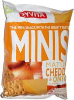 Ryvita Minis Mature Cheddar & Onion