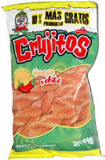 Crujitos Queso y Chile