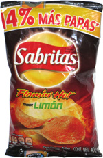 Sabritas Flamin' Hot Sabor Limón