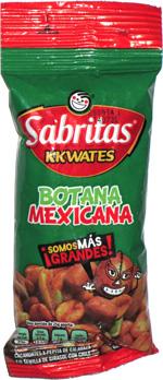 Sabritas Kkwates Botana Mexicana