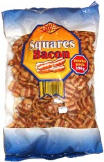 Squares Bacon