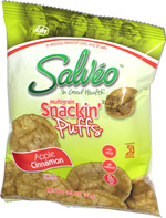 Salveo Multigrain Snackin' Puffs Apple Cinnamon