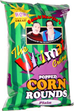 Sam & Martin's The Ultimate Crispy Popped Corn Rounds