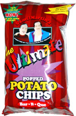 Sam & Martin's The Ultimate Popped Potato Chips Bar-B-Que