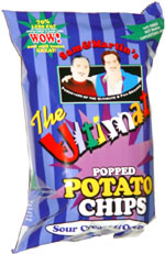 Sam & Martin's The Ultimate Popped Potato Chips Sour Cream & Onion