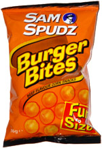Sam Spudz Burger Bites