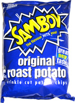 Samboy Original Roast Potato Crinkle Cut Potato Chips