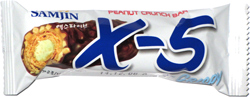 X-5 Peanut Crunch Bar