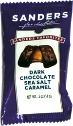 Sanders Favorites Dark Chocolate Sea Salt Caramel