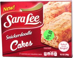 Sara Lee Snickerdoodle Cakes