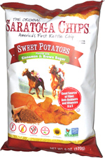 Saratoga Chips Sweet Potatoes Flavored with Cinnamon & Brown Sugar