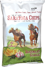 Saratoga Chips Rosemary Garlic