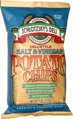 Schlotzsky's Deli Salt & Vinegar Potato Chips