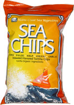Sea Chips Seaweed Flavored Tortilla Chips