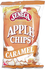 Seneca Crispy Caramel Apple Chips