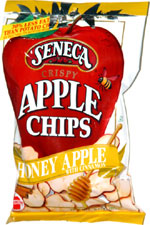 Seneca Crispy Honey Apple with Cinnamon Apple Chips