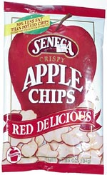 Seneca Crispy Red Delicious Apple Chips