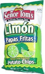 Señor Tom's Limón Papas Fritas