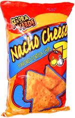 Senora Verde Nacho Cheese Flavored Tortilla Chips