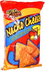 Senora Verde Nacho Cheese Flavored Tortilla Chips